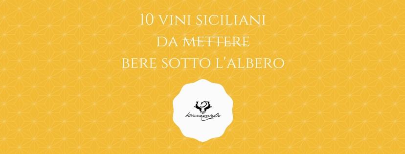 vini siciliani - Ristorante Biancongio