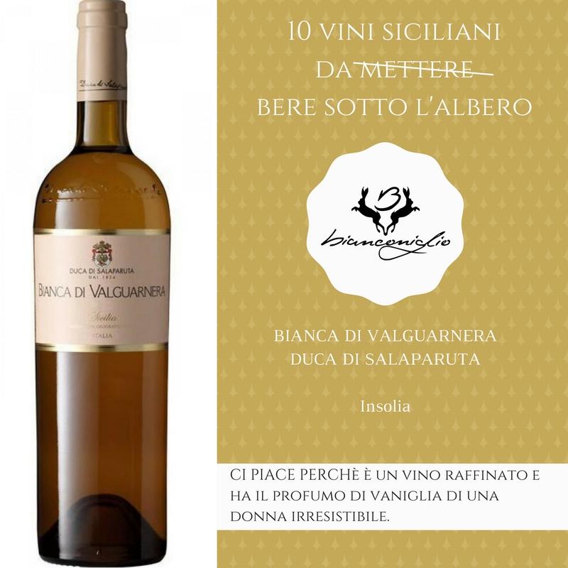 BIANCA DI VALGUARNERA DUCA DI SALAPARUTA - Ristorante Bianconiglio